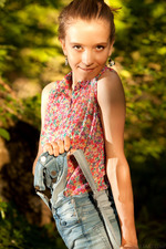 Racy Russian Alisabelle has a penchant for getting naked outdoors 03
