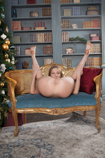 racy Russian Nimfa has made sure that Santa?s in for a big surprise when he comes 08