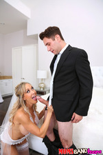 Big Boboed Brandi Joins To Wedding Threesome 02