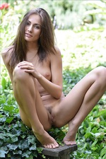 Michaela Isizzu In Garden 05