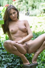 Michaela Isizzu In Garden 07