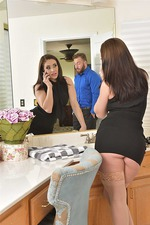Gracie Glam Gets Nailed On The Bed In Nude Stockings 01