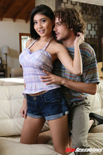 Busty Tattooed Babe Brenna Sparks Gets Drilled 00
