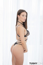 Lana Rhoades Catches Two Hard Cocks 02