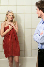 Lily Rader Blonde Teen Babe Gets Fucked In The Bathroom 12
