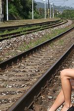 Vanessa Decker Shows Her Natural Curvey Tits 12