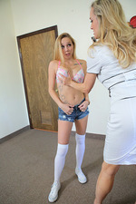 Brandi Love And Hollie Mack- -teacher Fucks Teens 07