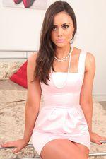 Hottie In Her Peach Dress 00