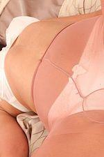 Hottie In Her Peach Dress 12