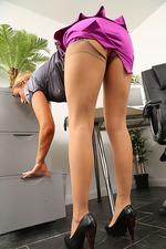 Sexy Secretary Rosie Strips 02