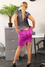 Sexy Secretary Rosie Strips 05