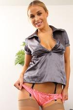 Sexy Secretary Rosie Strips 06