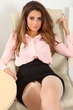 Busty Secretary Charlotte Springer 00