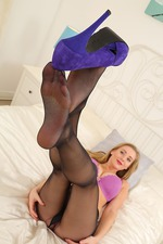 Charlie Shows Her Big Naturals 13