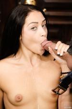 Avi Love, Horny Teen Girl Likes To Blow 14