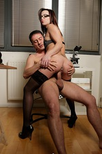 Amazing Hot Babe Strips And Fucks A Lucky Guy 03