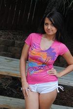 Chrissy B Busty Teen Model 00