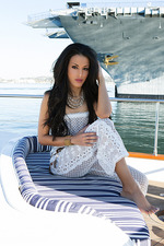 Layla Sin On A Boat 00