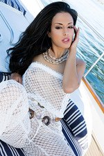 Layla Sin On A Boat 01