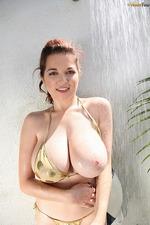 Tessa Fowler Bikini Shower 00