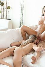 Alexis Adams And Bree Mitchells In Threesome 14