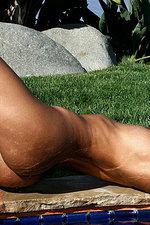 Rita coral string bikini 13