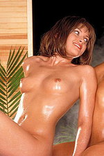 Joey & Genesis take a steamy shower 08