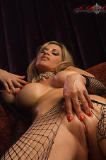 Tory ripped fishnet 17