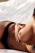 Laetitia is a hot brunette with sweet smile   04
