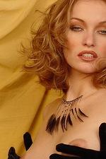 Isabella seduces you in black lace lingerie 14