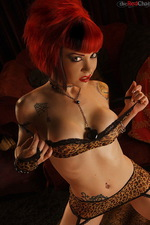 Tara Ryze is a lovely tattooed babe 02