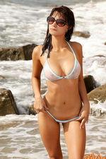 White sexy bikini 06