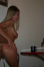 Blonde exgirlfriend shows everything 07