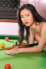 Jang Ling playing pool naked 01