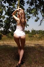 Lilian White in Sunny 00