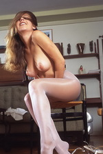 Lovely stockings on Anine 10