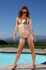 Exotic Leopard G-string Bikini 03