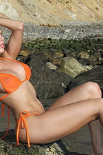Erika Jordan Nude Beach Fun in the Sun 01