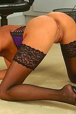 Sexy secretay babe 14
