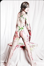 Amanda Vivid Paint Pussy 06