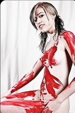 Amanda Vivid Paint Pussy 17