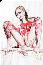 Amanda Vivid Paint Pussy 18