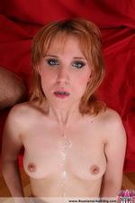 Sluty redhead Nadya gets anal 13