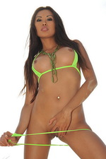 Kim Davon in her micro bikini 01