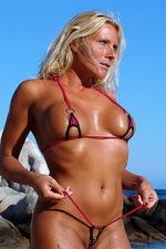 Michelle in a sexy bikini 07