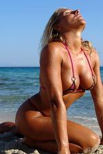 Michelle in a sexy bikini 11