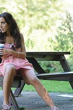 Tori in the park 00