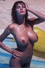 Donna?s Tits are Poolside 09