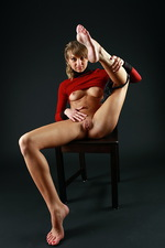 Sandy - Red shirt 04