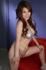 Busty babe Yuki Aida posing naked 04